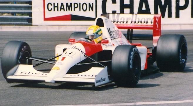 Ayrton Senna Monaco